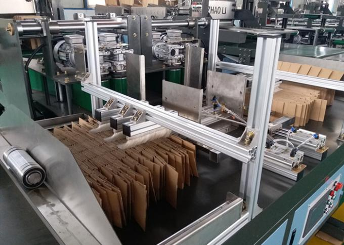 Cardboard Partition Assemble Machine Longitudinal Feeding Shaft Adopts Electric Lifting