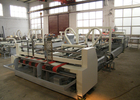 China Corrugated Carton Automatic Folder Gluer Machine 120 M / Min Working Speed company