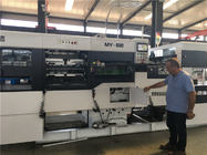 Automatic Corrugated Carton Creasing And Die Cutting Machine High Precision