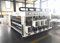 Automatic Flexo Printing Slotting Die Cutting Machine / Corrugated Box Printing Slotting Machine