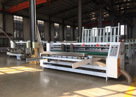 Speed  0-1200 Turn / Min Lead Edge Feeder Corrugated Board Thin Blade Slitting Scoring Machine