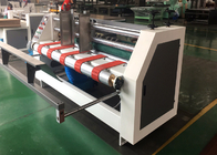 Corrugated Paperboard Slot Scorer Press Line Machine / Carton Box Packing Machine