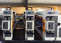 Automatic Corrugated Box Feeder Flexo Printer Slotter Machine / Small Carton Box Making Machine