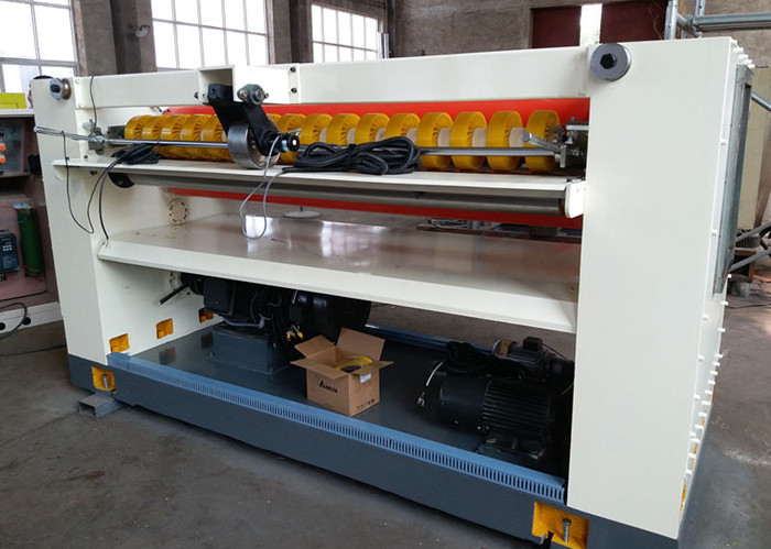 High Speed Corrugated Cardboard Machine With Computer NC Sheet Cut Off