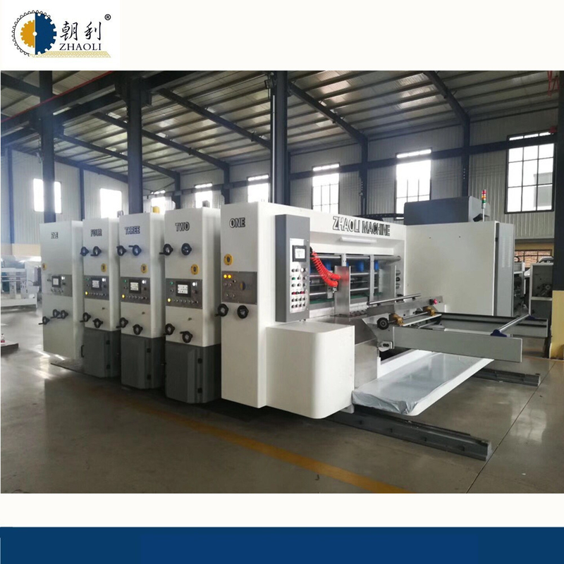 High Speed Flexo Printer Slotter Machine / Flexo Printing Machine CE Certificate