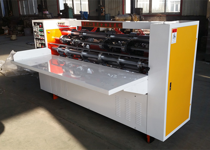 Paper Carton Thin Blade Slitter Scorer Machine / Carton Box Making Machine