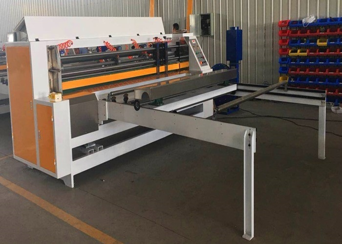 Automatic Thin Blade Slitter Scorer Machine For Corrugated Paperboard