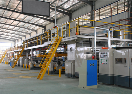 5 Layer Automatic Corrugated Cardboard Machine Forming Production Line