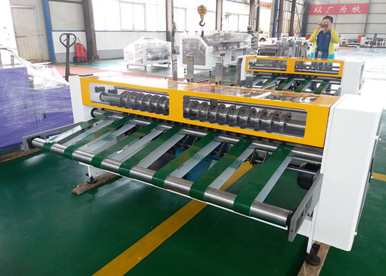 Automatic Corrugated Cardboard Partition Slotter Machine Easy Operate