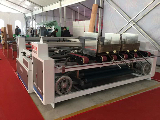 China Double Pieces Regular Shaped Automatic Folder Gluer Machine 5.8kw Power factory