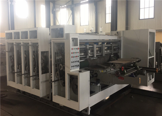 China Corrugated Carton Flexo Printing And Die Cutting Machine factory