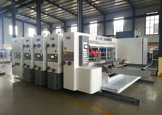 Module Designed Flexo Corrugated Machine / Flexo Printer Slotter Die Cutter