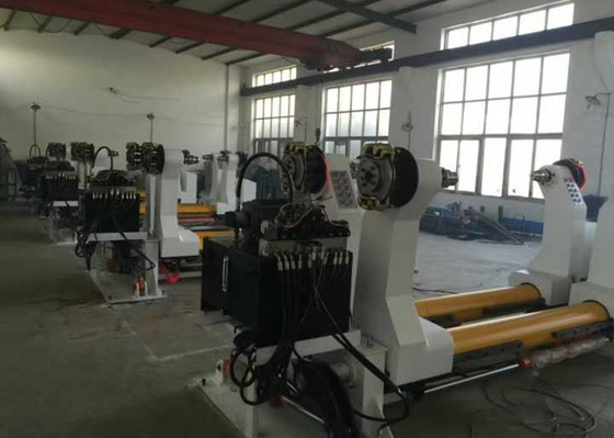 China High Speed Corrugated Cardboard Production Line Full Hydraulic Type Motion factory