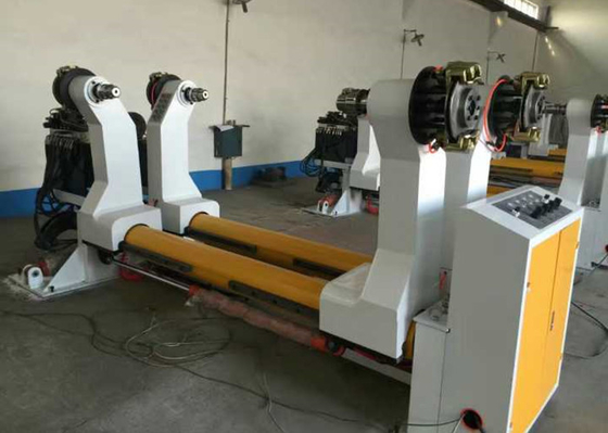 China Hydraulic Power Corrugated Paper Roll Machine 0.6 - 0.8 Mpa Air Source Working Pressure factory