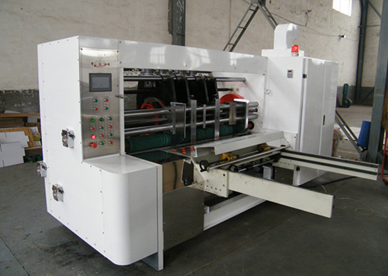 Slotting And Creasing Rotary Slotter Machine With Planet Gears Structure