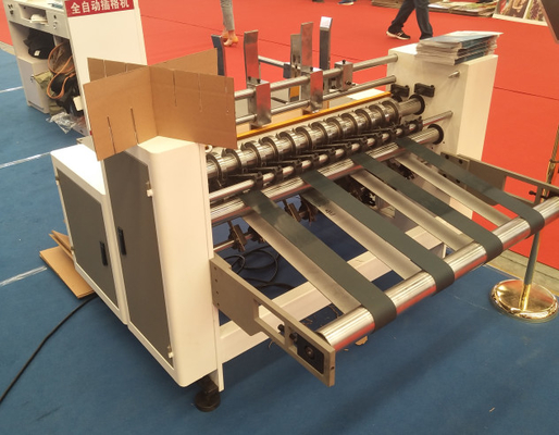 Automatic Corrugated Carton Making Machine / Carton Box Partition Slotting Machine