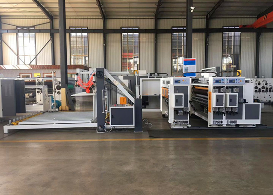 Automatic  Feeder Corrugated Carton Flexo Printing Slotting Machine / Carton Packing Machinery