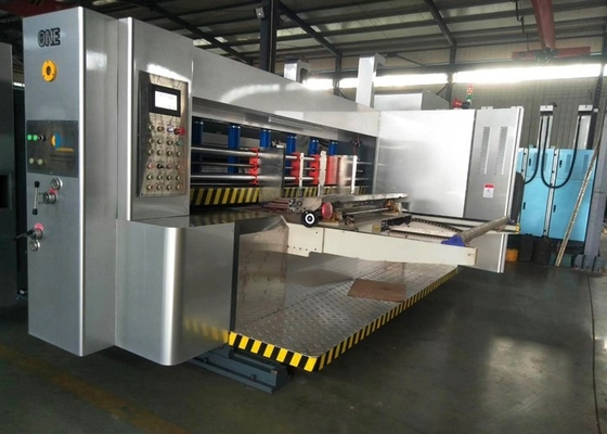 China Automatic Feeder Water Base Ink Printer Slotter Die Cutter Machine For Carton Box Packing factory