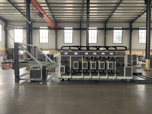 China Automatic Small Flexo Printing Slotting Machine For Making Box Cardboard factory