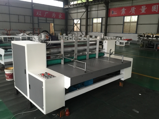 China Carton Box Making Flexo One Color Printer Slotter Machine With High Efficiency factory